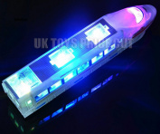 High Speed Toy Train with Flashing Light & Music Kids Childrens Christmas Gift