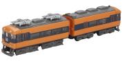 (2 cars entering the top car) B Train Shorty Kintetsu 12200 system A set