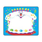 36 x Happy Birthday, Name Label Stickers