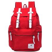 EcoCity Unisex Vintage Canvas Laptop Rucksack Backpack School Bags BP0030R1