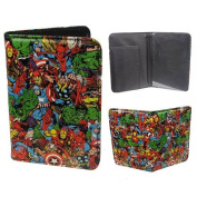 BB Designs Marvel Multi Character Passport Holder