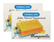 Dermacare Chamomile Bar Soap, 90 gr - Package of 2.