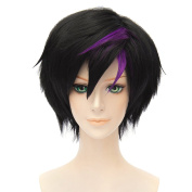 HH Building Movie Big Hero 6 Go Go Tomago Anime Cosplay Costume Wig Women's Short Straight Partys Wig Hair