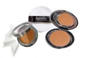 Best Foundation Makeup Kit for Creating a Flawless Look - Alexis Vogel Flawless Face Kit - Includes Signature Foundation in 2 Shades, Pro Powder, Pro Sponges, and Pro Puff - Kit Available in Light, Medium, and Dark to Match Any Skin Tone