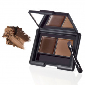 e.l.f. Studio Eyebrow Kit MEDIUM Eye Brow Makeup Brush Mirror Girly ELF Fun Sexy