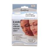 Godefroy Instant Eyebrow Tint Permanent Eyebrow Colour Kit, Light Brown-1 kit