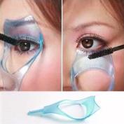 3in1 Makeup Eye Lash Brush Mascara Eyelash Curler Guard Applicator Comb Cosmetic