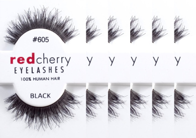 Red Cherry False Eyelashes #605 (Pack of 6)