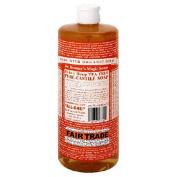 Dr. Bronner's Magic Soaps Pure-Castile Soap, 18-in-1 Hemp Tea Tree, 950ml Bottle