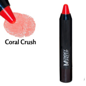 Sheer Sticks Lip Stain & Cheek Tint [Coral Crush] - Lip Liner, Lip Stain and Cheek Tint All-In-One by Mommy Makeup