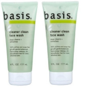 Basis Cleaner Clean Face Wash, 180ml Tube