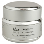 Face Cream - Anti Wrinkle Complex By Lilian Fache - Skin Care For AM/PM - Black Diamond Dust Infused - Beauty Skin Care Product - Skin Rejuvenation - Wrinkle and Fine Line Prevention - Collagen Restoring - Try This One of a Kind Anti Ageing Wrinkle Com ..