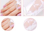 Bride Wedding Party Dress Rhinestone Fingerless Lace Satin Bridal Gloves
