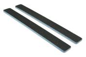 Standard Black 80/100 (Blu Ctr) Square End Nail File 12 Pack