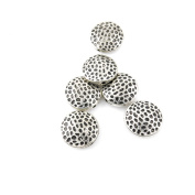 70 Pieces Antique Silver Jewellery Making Charms Vintage Jewellery Supply Crafting Bracelet FCY05 Hollow Loose Beads