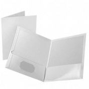 ESS51626 - Marble Design Laminated Two-Pocket Portfolios