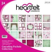 Heartfelt Creations Cascading Fuchsia - Cascading Fuchsia Paper Collection