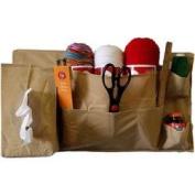 Bedside Yarn & Craft Organiser 50cm x 60cm -Tan