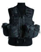 Modular System Tactical Vest Paintball Airsoft Black