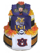 House Divided Nappy Cake