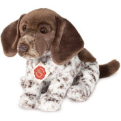 Plush Soft Toy German Shorthaired Pointer by Teddy Hermann. 28cm. Cute Li'l Puppy Dog. by Teddy Hermann