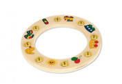 Hess Wooden Toddler Toy Motor Skills Leave by Hess
