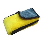 GDW 1 pack 800gsm 45cmx38cm Super Thick Plush Microfiber Car Detailsing Towel for Car Care
