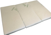 Folding Pack n Play Mattress by Sproutwise Kids - Super Soft Hypoallergenic Bamboo Cover with Waterproof Liner