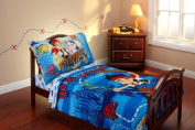 Disney Jake and the Neverland Pirates 4 Piece Toddler Bedding Set