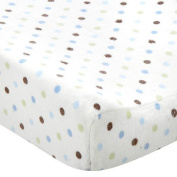 Carter's Random Dot Changing Pad Cover - Blue