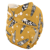 DSB 2015 NEW Reusable Washable Baby Cloth Nappy Nappy Flying Feather+1insert