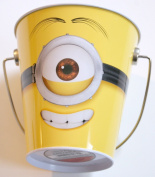 Despicable Me Minion Tin Pail - 11cm x 11cm
