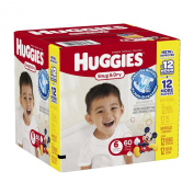 Huggies Snug and Dry Nappies - Size 6 - 60 ct