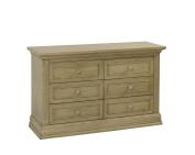 Suite Bebe Dakota 6 Drawer Dresser, Driftwood