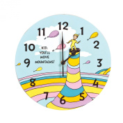 Trend Lab Dr. Seuss Kid You'll Move Mountains! Wall Clock