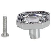 MicroMall(TM) Postmodern Europe Style Crystal Rhinestone Cabinet Handle Pull Knob Cupboard Drawer Pull Handle 3.3cm