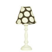 N. Selby Standard Lamp Shade Cotton Tale Designs Raspberry Dot
