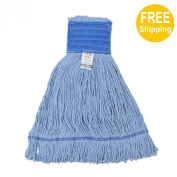 1pc 680g710ml SunnyCare #22682-1 Blue Synthetic Cotton Loop-End Wet Mops