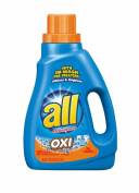 all Liquid Laundry Detergent, OXI, 1380mls, 26 loads