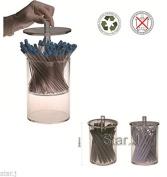 1 pc Dental Acrylic Organiser Holder Case for Aspirator Suction Tips Nozzles