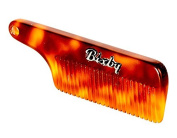 Bixby Beard and Moustache Comb- Carson- Amber Tortoise