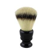 26mm Knot Black Resin Handle Synthetic Nylon Shaving Brush