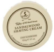 Taylors of Old Bond Street 150g Sandalwood Traditional Shaving Cream Tub TAY1001 by Sarome UK