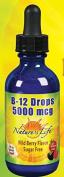 B-12 Drops Methylcobalamin Wildberry Liquid 60mls