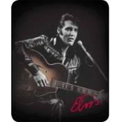 "Elvis ""Leather Jacket"" - Officially Licenced Medium Weight Luxury Faux FurTM Blanket"