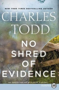 No Shred of Evidence [Large Print]