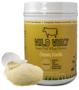 Wild Whey, Grass-fed Whey Protein, Non-denatured, Native Whey, Ultra-premium, Cold Process, Made From Milk (Not Cheese), 600g (1.32lb)