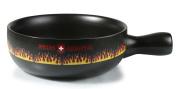 Artestia Cheese Fondue Cooking Pot -- Swiss Flare