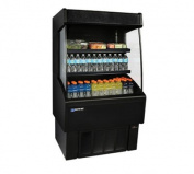 Master-Bilt, VOAM36-60, Vertical Open Air Merchandiser, Refrigeration, 0.4cbm, Black