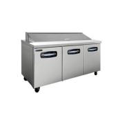 Master-Bilt, MBSP72-18, Sandwich & Salad Preparation Unit, 0.6cbm, Stainless Steel
